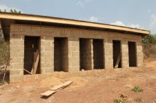 Newly Constructed Bathrooms