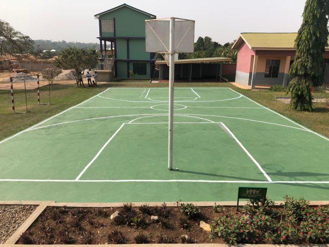 Basketball Court Ghana